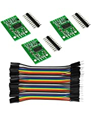 Rasbee HX711 Load Cell Amplifier Breakout Weight Weighing Sensors AD Module Analog to Digital Converter Dual-Channel 24 Bit Precision Microcontroller Dupont Cable