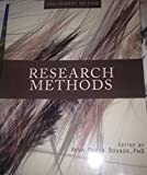 Research Methods (Preliminary Edition), Bounds, Anna, 1621316246