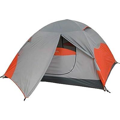 RT One Size Orange/Grey 4-Person 3-Season Mountaineering Koda 4 Tent: Garden & Outdoor