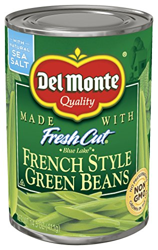 Del Monte French Green Beans - 14.5 oz (Sliced Beans Green)