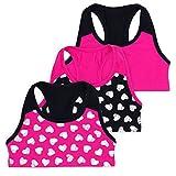 Layla Racerback Crop Top, Gymnastics & Dancewear, Tagless, 3-Pack, Purple, 6
