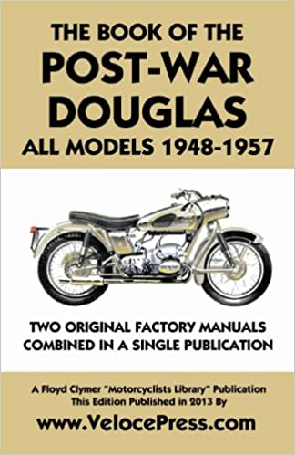 Book Book of the Post-War Douglas All Models 1948-1957