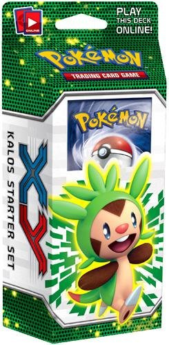 pokemon trading card game - xy kalos starter set - chespin deck - 2