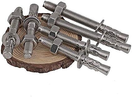 Length : 7cm, Size : M10 304 stainless steel expansion screw expansion bolt car repair gecko car repair expansion bolt m6m8m10m12m16 1Pcs