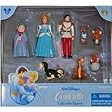 : Disney Cinderella Poseable Figure Figurine Set