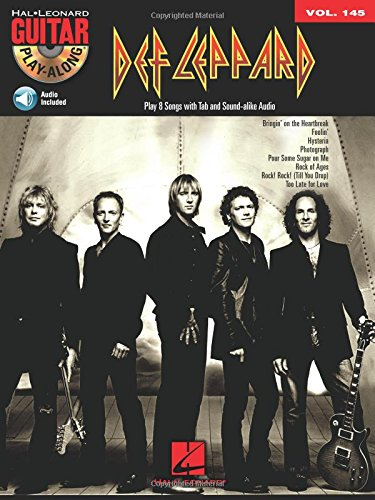 Def Leppard: Guitar Play-Along Volume 145 Def Leppard Guitar