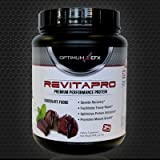 Cheap REVITAPRO – Premium Performance Protein – 100% WHEY ISOLATE, Naturally Sweetened, NO Artificial Colors or Sweeteners (Chocolate Fudge Flavor)