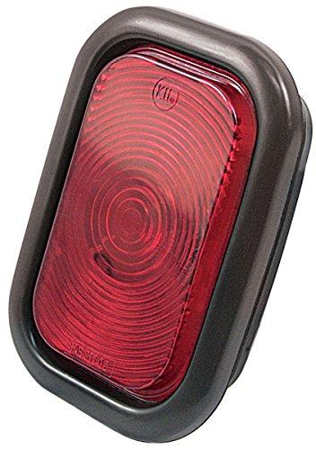 Kaper II 1T-V-1016R Red 3'' x 5'' Stop/Turn/Tail Light