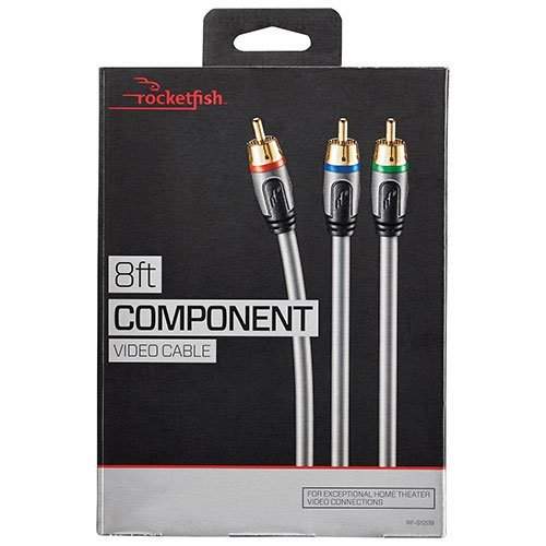8' Component Video Cable - 4