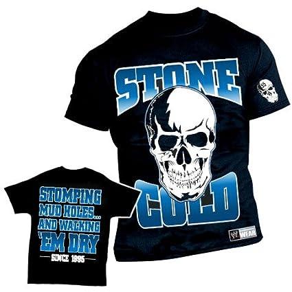 WWE Stone Cold Steve Austin Stomping Mudholes Authentic T-Shirt