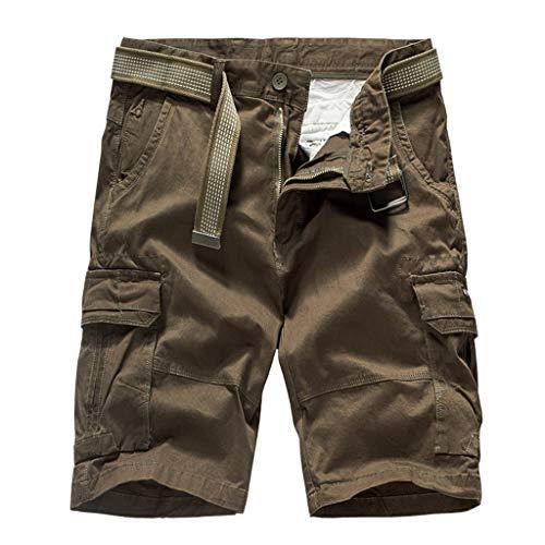 Pour À Court Courtes Travail Coton Mode Cargo Café Hommes En Pantalon Décontracté Holywin Manches De zXw7qg4
