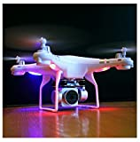 RC Quadcopter Wotryit Drone 1080P Wide Angle Lens 270 Degree Rotating HD Camera Drone FPV Gift (white)