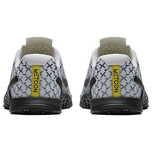 White Black Multicolore Cross Dynamic Yellow de 4 Homme 107 Metcon Chaussures Nike wpTqR