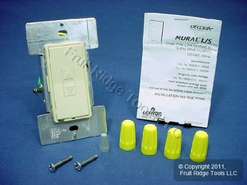 MRI10-1LI Leviton Decora Mural Level Set Dimmers ()