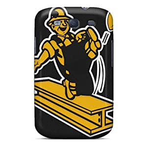 Galaxy S3 Case Cover - Slim Fit Tpu Protector Shock Absorbent Case (pittsburgh Steelers)