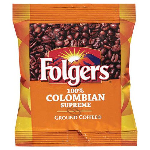 Folgers 100 Percent Colombian Supreme Ground Coffee, 1.75 Ounce (Pack of 42)