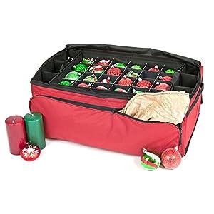 TreeKeeper Santa's Bags Prwemium Holiday Christmas Ornament Storage Bag 90