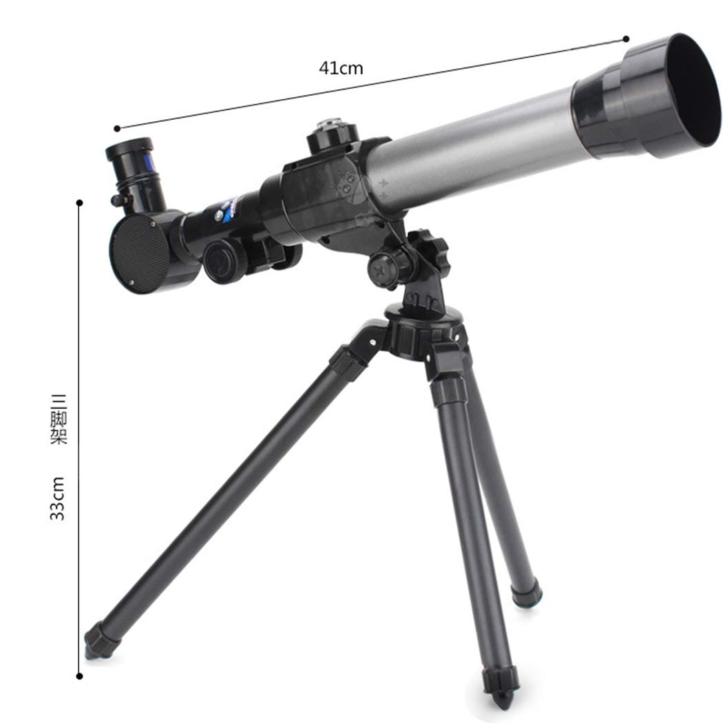 Unico Tomasa Juguete Pr/áctico del Telescopio de los Ni/ños el Juguete Educativo del Tr/ípode de 360 Grados Exploraci/ón de Ciencias y Astronom/ía