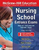 img - for McGraw-Hill Education Nursing School Entrance Exams, Third Edition (Mcgraw-Hill's Nursing School Entrance Exams) book / textbook / text book
