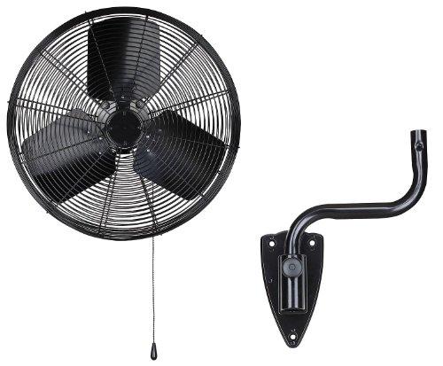 Dayton 13V402 Oscillating Fan, Wall Mount, 20 In