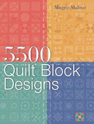 5,500 Quilt Block Designs by Sterling