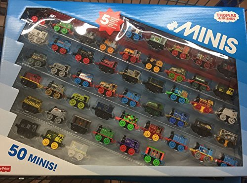 51DW1uS%2BXHL - Thomas and Friends Minis Collection of 50 - with 5 Exclusive Warrior Minis