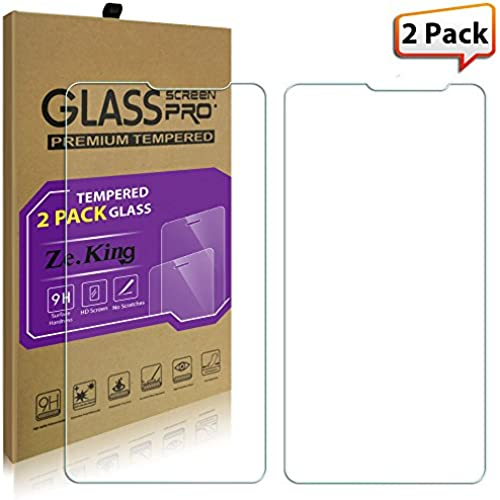 [2-Pack]Galaxy S8 Plus Tempered Glass Screen Protector, ZeKing 0.33mm 2.5D Edge 9H Hardness [Anti Scratch][Anti-Fingerprint] Bubble Free for Sales