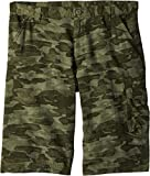 Columbia Boys Silver Ridge Printed Shorts, Cypress Camo, Large