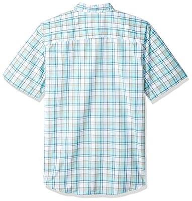 G.H. Bass & Co. Men's Tall Explorer Short Sleeve Plaid Shirt