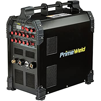 PRIMEWELD TIG225X 225 Amp IGBT AC DC Tig/Stick Welder with Pulse CK17 Flex Torch and Cable 3 Year Warranty