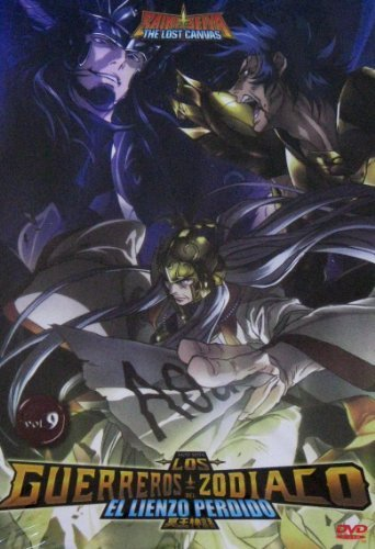 Los Guerreros del Zodiaco: El Lienzo Perdido Vol. 9 (Saint Seiya: The Lost Canvas) [NTSC/Region 1 and 4 dvd. Import - Latin America] (Audio: Japanese, Spanish)
