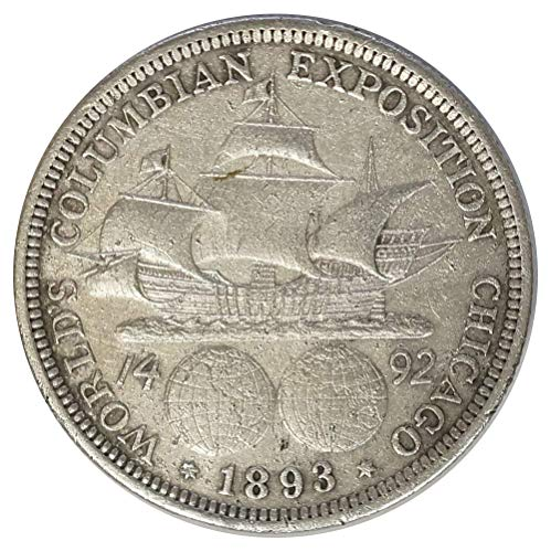 (1893 Columbian Exposition Chicago Silver Commemorative Half Dollar)