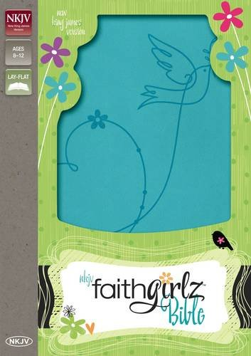 NKJV, Faithgirlz Bible, Imitation Leather, Blue