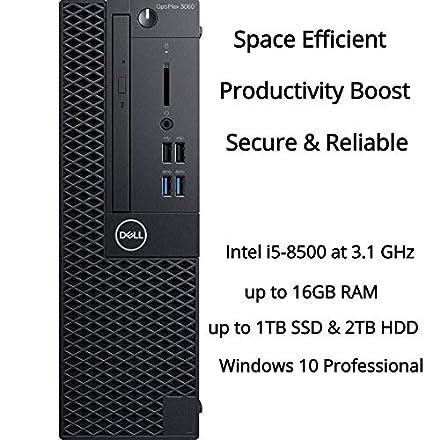 Amazon com: 2019 Dell Optiplex 3060 SFF Business Desktop