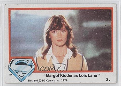 Margot Kidder as Lois Lane COMC REVIEWED Good to VG-EX (Trading Card) 1978 Topps Superman The Movie - [Base] (Margot Kidder Lois Lane)