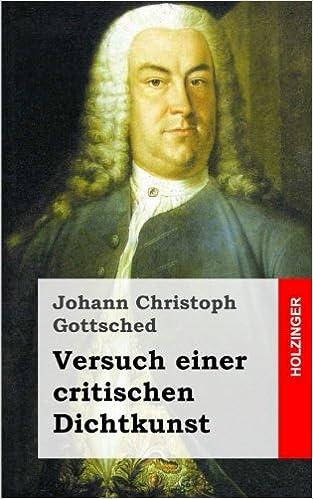 Book Versuch einer critischen Dichtkunst (German Edition)