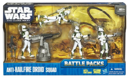 Star Wars Battle Pack Anti Hailfire (Action Figure Stormtrooper Commander)