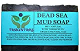 Dead Sea Mud Mask Reviews Dead Sea Mud Soap Bar Made With Frankincense Lavender & Eucalyptus Essential Oils 100% Natural Contains Activated Charcoal Use on Face or Body to Help With Acne Psoriasis Eczema (1 Pack)