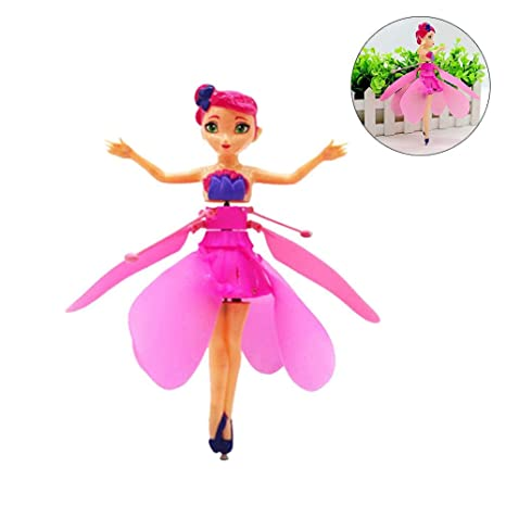 Flying Fairy Doll, Flying Princess Fairy Drone Doll con luces de ...