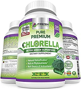Amazon Giveaway Organic Chlorella Capsules 100% Vegetarian...