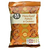 Morrisons Honey Roast Peanuts & Cashews, 100g