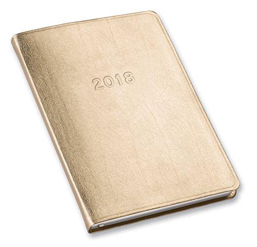 2018 Desk Weekly Planner Metallic Gold 8