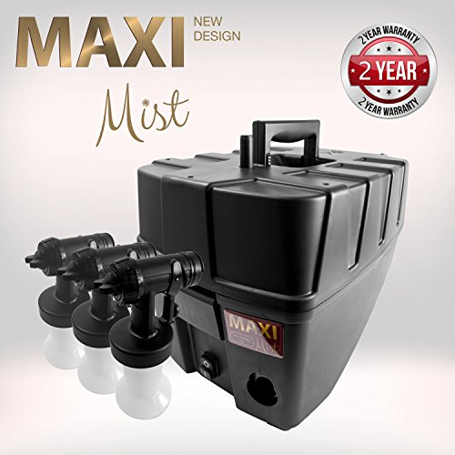 MaxiMist Pro TNT Spa Quiet Sunless Tanning System with FREE Suntana Premium Sunless Solutions