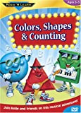 Colors, Shapes & Counting: Ages 3-5