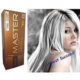 Dcash Master Permanent Hair Colour Cream Dye Silver Titanium Blonde .(Honest Succeed)
