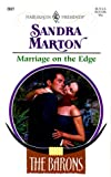 Marriage on the Edge, Sandra Marton, 0373120273