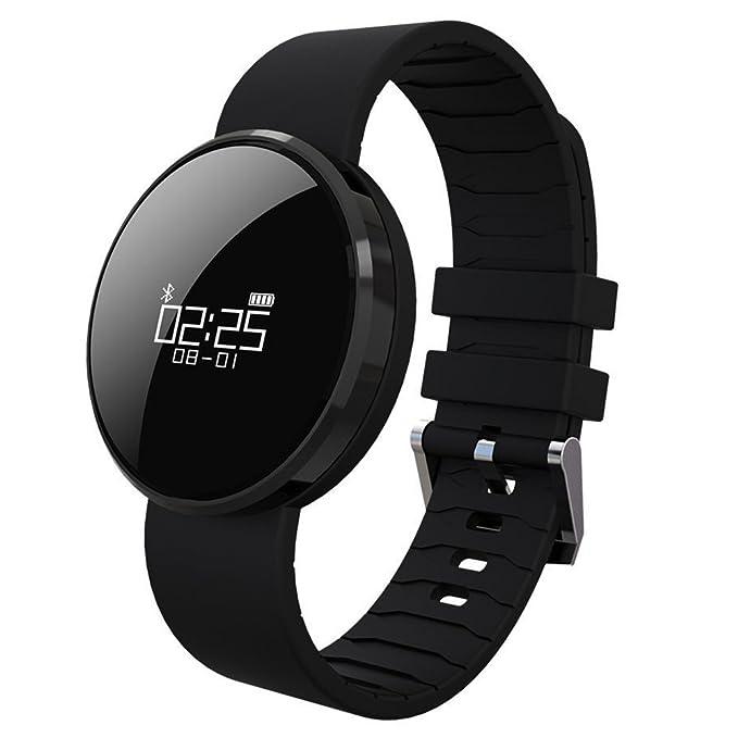 Presión Arterial Smartwatch Contador de Calorías - Feeleye UW1X (2017 Nuevo Diseño) Activity Tracker con Monitor de Ritmo Cardíaco Fitness para el ...