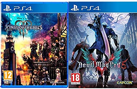 Kingdom Hearts 3 - PS4 & Devil May Cry 5 Lenticular Edition ...