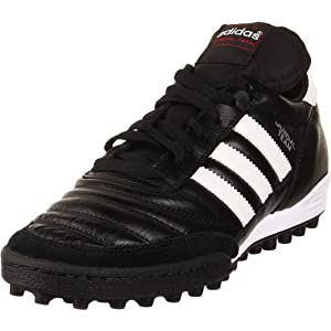 adidas Performance Mundial Team Turf Soccer Cleat,Black/White,8.5 M US