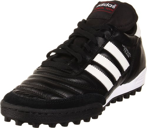 adidas Performance Mundial Team Turf Soccer Cleat,Black/White,13 M US